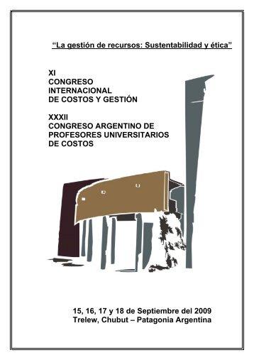 """""""La gestión de recursos: Sustentabilidad y ética"""" XI ... - nemac"""