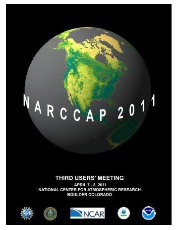 third users' meeting - NARCCAP - UCAR
