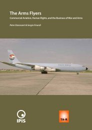 The Arms Flyers. Commercial Aviation, Human Rights, and