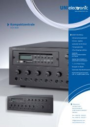 UCA-8240 Datenblatt (deutsch) - UNIelectronic