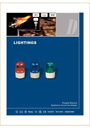LIGHTINGS - PEOPLE Electric