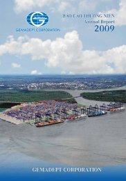 Báo cáo thường niên 2009 - Gemadept