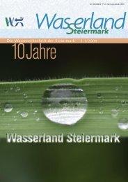 Die Wasserzeitschrift der Steiermark 1.1/2009
