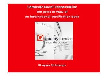 Guidance on social responsibility