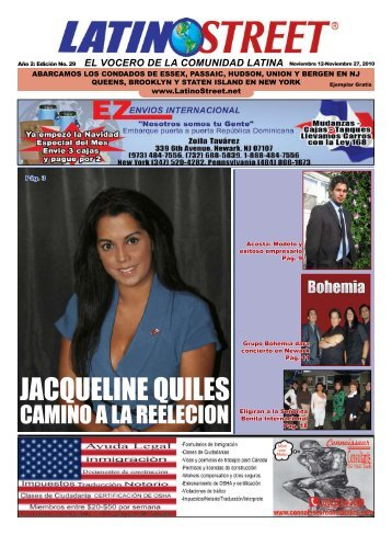 JACQUELINE QUILES - Latino Street