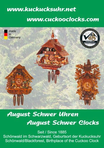 August Schwer - Cuckoo Clock