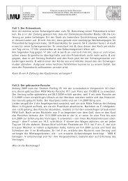 Alle Fallangaben zum download - Prof. Dr. Stephan Lorenz