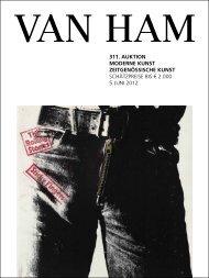 311. Auktion Moderne kunst Zeitgenössische kunst - VAN HAM ...