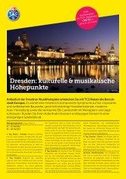Dresden: kulturelle & musikalische Höhepunkte - Reisen & Freizeit ...