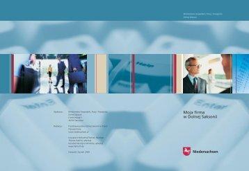 Moja firma w Dolnej Saksonii - Innovatives Niedersachsen