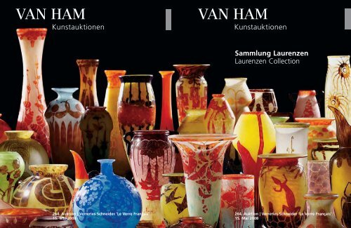 Sammlung Laurenzen - VAN HAM Kunstauktionen