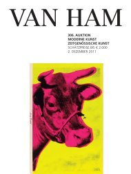 306. auktion moderne kunst zeitgenössische kunst - VAN HAM ...