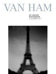 307. auktion photographie - VAN HAM Kunstauktionen