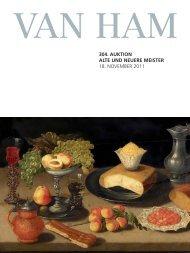 304. auktion alte und neuere meister - VAN HAM Kunstauktionen