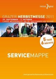SERVICEMAPPE - Grazer Herbstmesse