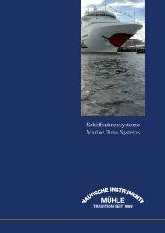 Informationen und technische Daten (PDF, 1,7 MB - Mühle-Glashütte