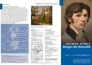 Falblatt Runge - Kunsthalle der Hypo-Kulturstiftung
