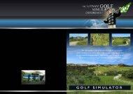 THE ULTIMA TE G O L F - Golf Simulatoru