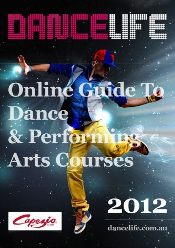 'DanceLife's Online Guide To Dance and Performing Arts