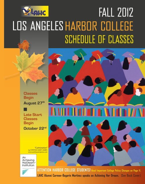 Fall 2012 Web Schedule Indd Los Angeles Harbor College