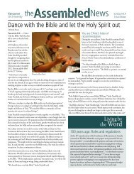 Dance with the Bible and let the Holy Spirit out - Mennonite Church ...