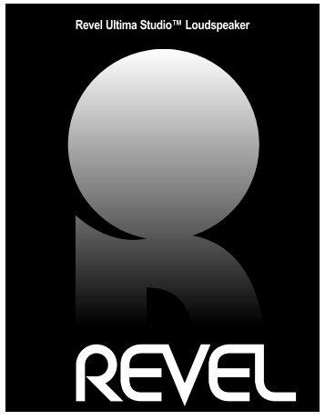 Revel Ultima Studio™ Loudspeaker