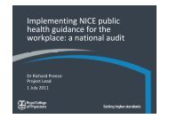 Royal College of Physicians Workforce Audit.pdf - North West Public ...