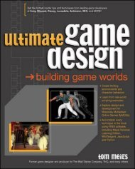 Ultimate Game Design : Building game worlds