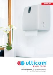 Katrin System Toilettenpapierspender - Ulticom Hygiene ...