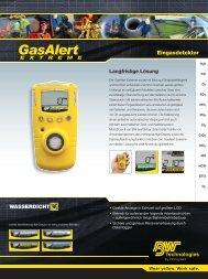Eingasdetektor - Geo-data