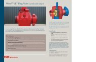 ULT Plug Valve (3-inch and larger) - Topco Oilsite Products Ltd.