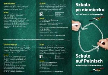Szkoła po niemiecku Schule auf Polnisch - Die Senatorin für Bildung ...