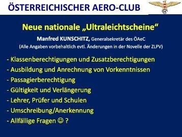 ÖSTERREICHISCHER AERO-CLUB - Austro Control