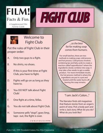fight club - Mandy Ratliff