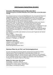VHS-Programm Herbst 2012 - Immendingen