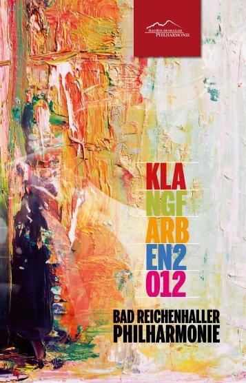 Musik entsteht - Bad Reichenhaller Philharmonie