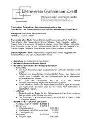 Protokoll der Ordentlichen Jahreshauptversammlung des ...