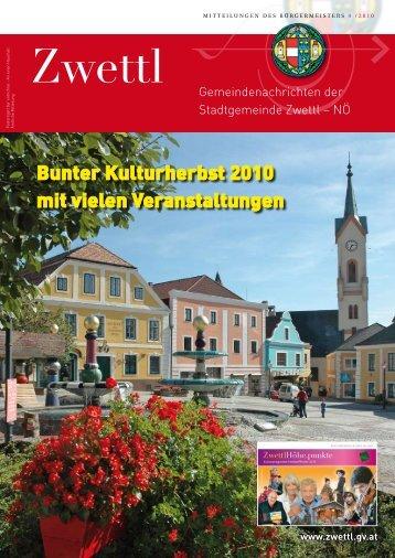 Baumaschinenvermietung Robert Thaller - Zwettl