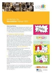 Newsletter Februar 2012 - Lokale Agenda 21 Wien