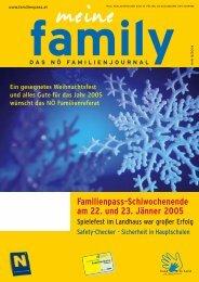 SOMMER 2005 - Familienpass