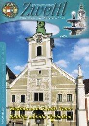 Stadtmuseum Zwettl: Neuer Katalog und alte Techniken