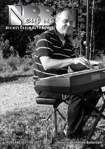 2011.08 [PDF, 6.00 MB] - Gemeinde Bichelsee-Balterswil