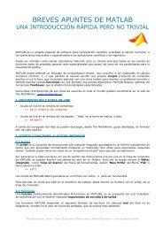Apuntes MATLAB (pdf) - Personal.us.es - Universidad de Sevilla