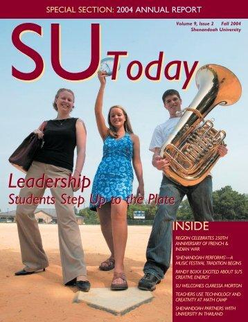 SUToday F04 Covers - Shenandoah University