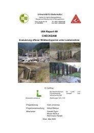 Checkdam – Evaluierung offener Wildbachsperren unter ...