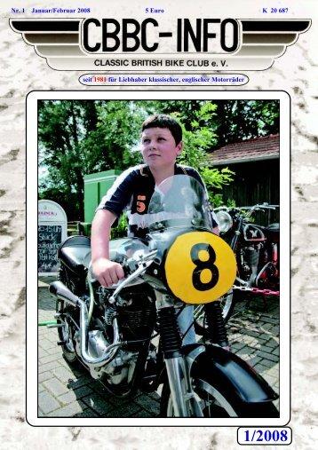 1/2008 - Classic British Bike Club