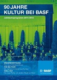90 JAHRE KULTUR BEI BASF - BASF.com