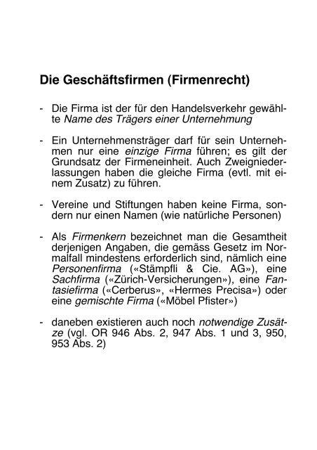 Vii Unternehmensrechtliche Grundlagen Ppt Herunterladen