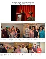 Speaker Charlene Taylor Hill - Women's Center of Jacksonville