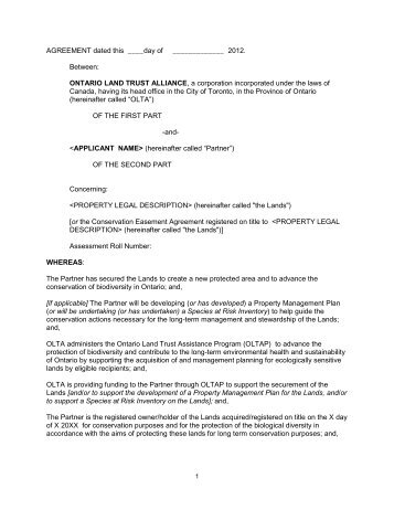 Grant Agreement Template - Apigram.Com